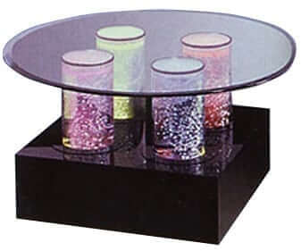 TR 604 Aqua Cocktail Table
