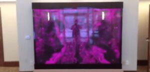 Bubble Wall Panel Swirley Volcano Effect Bubble Pattern Banquet Hall in Grand Rapids MI