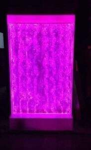 Bubble Wall Water Panel with LED color changing lights