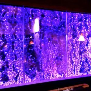 Custom Bubble Wall Dancing Bubble Wall Indoor Water Wall Feature