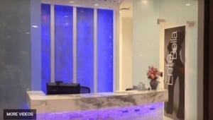 Custom Bubble Wall Water Feature Scottsdale Arizona