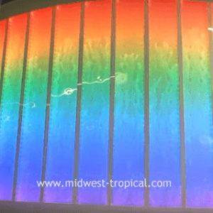 Custom Bubble Walls Lobby Water Wall Feature Childrens Hospital Grand Rapids Michigan