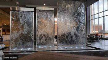 Custom Glass Water Walls Indoor Waterfalls Unique Indoor Water Walls Amazing You Must See