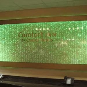 Custom Water Panel Bubble Wall with LED Lighting Amazing You Have to Watch