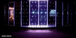 Dancing Bubble Wall Like Bellagio Fountain of Indoor Water Walls Custom Water Feature