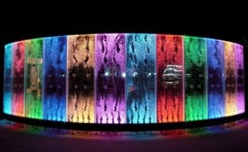Grand Siena Reno NV   bubble wall floor mount colored