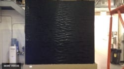 Indoor Waterfall Testing Rippling Waves on Water Wall