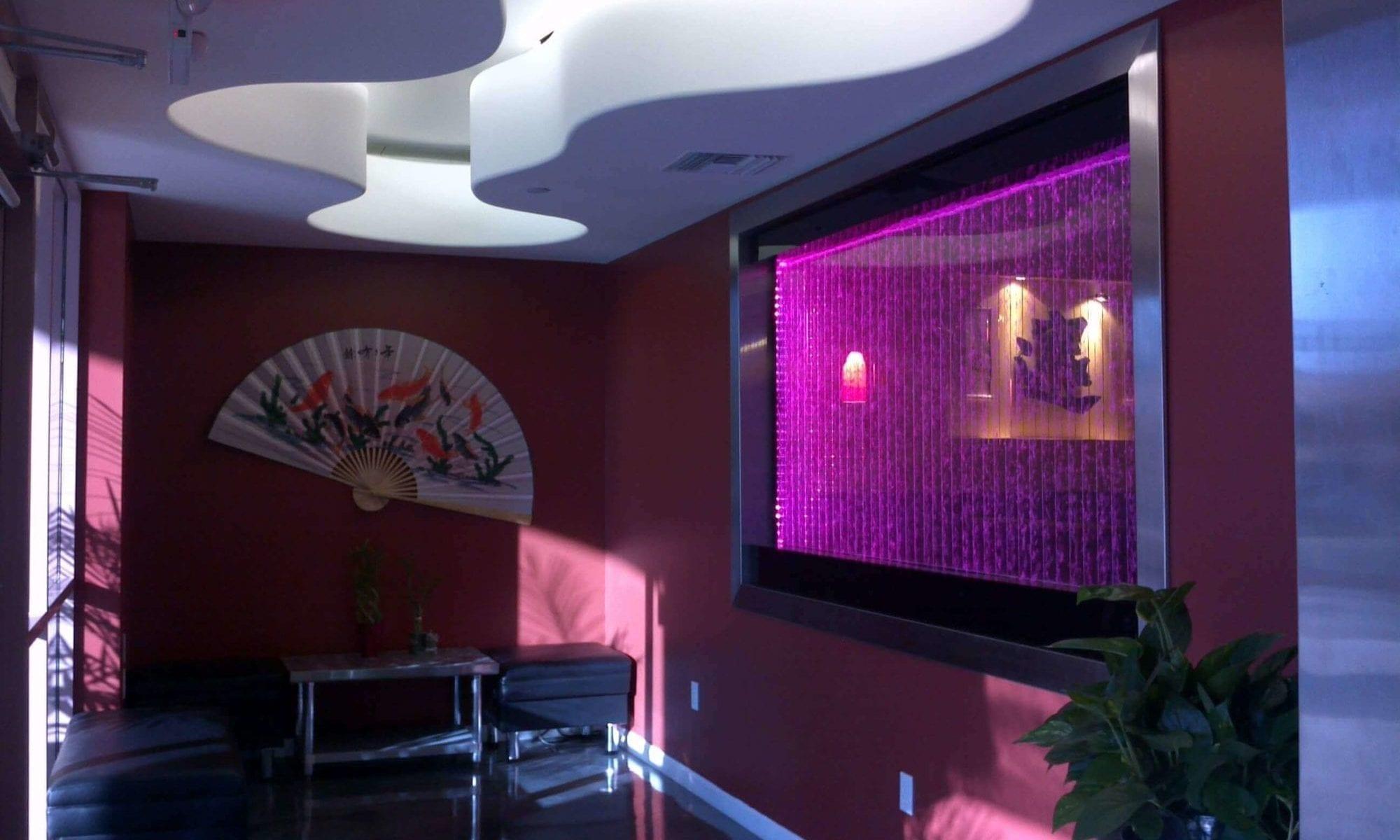 Sushi Restaurant OK window mounted bubble wall