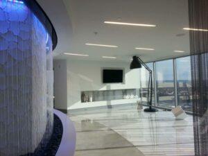 rain curtain residential grand rapids michigan interior waterfall4