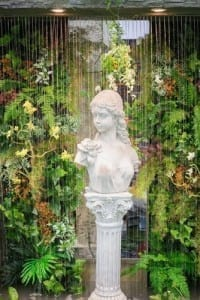 , Creating An Inviting Ambiance With Rain Curtain Water Features,