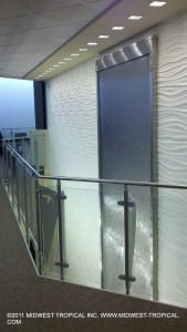 Stainless Panel Waterfall fron 2nd floor scaled
