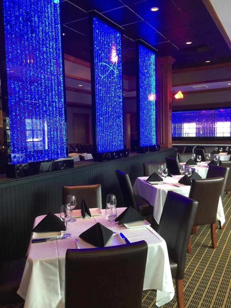 Bubble Wall Vertical Chambers Austins Chop House in Melbourne Florida 2