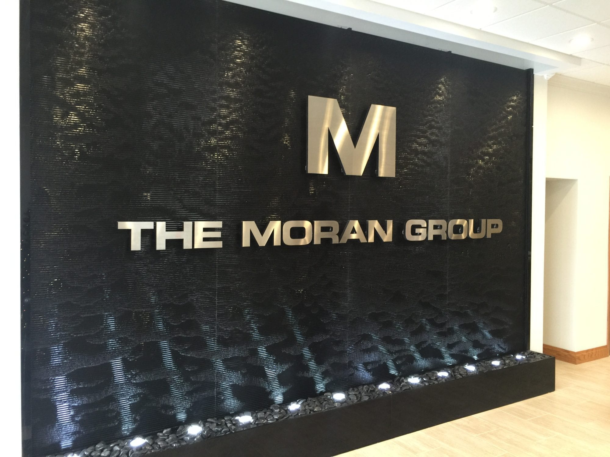 Logo Water Feature